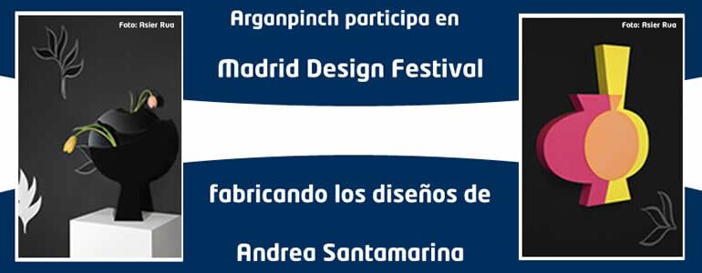 Arganpinch participa en Madrid Design Festival