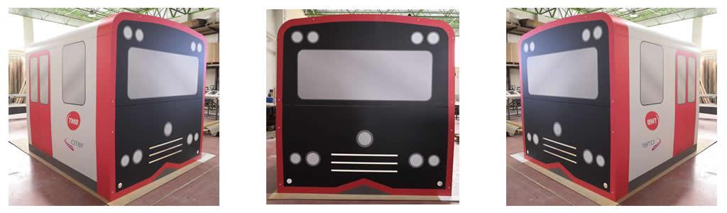 Arganpinch participa en le desarrollo del simulador de conducción de CITEF para Metro de Barcelona